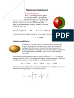 Material Science Assignment 2