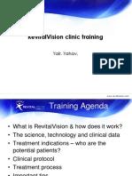 Clinic Training Revitalvision