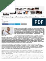 _O Congresso Chegou Ao Fundo Do Poço_, Diz Ministro Da Defesa