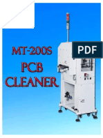 mt-200s pcb cleaner catalog