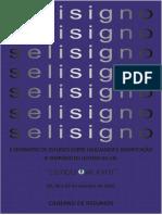 Caderno de Resumos x Selisigno e Xi Simpósio de Leitura Da Uel