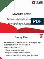Sinyal Dan Sistem