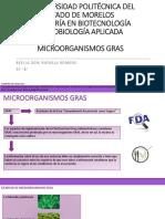 Microorganismos Gras- Rafaela Romero