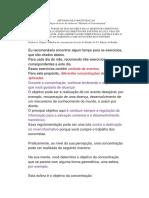 Tradução Livro Methods of Concentration Parte 1