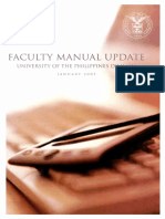 Faculty Manual Update 20051