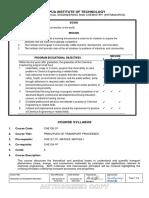 CHE130-1P 2016 Syllabus