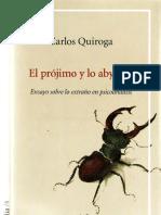 El prójimo y lo abyecto [Carlos Quiroga]