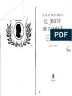 Pushkin Aleksandr El Jinete de Bronce