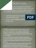 Sedimentation Presentation