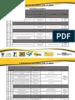 Cronograma Semana de Ingenieria Civil