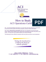 How to Study Aci Operations Certificate v20160418 (1)