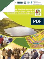 Diagnostico de Pastos y Agua Canchayllo 2015 (IM)