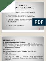 7. Bab Vii Identitas Nasional