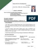 Prof.dr.C.R Resume 17 11 2017