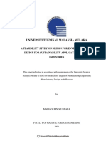 A Feasibility Study on Design for Environment and Design for Sustainability Application in Boat Industries
