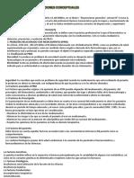 Deficiciones conceptuales en salud pública