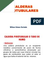 Calderas Pirotubulares