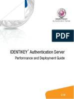 IDENTIKEY Authentication Server Deployment and Performance Guide