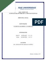 Monografia de Medicina Legal