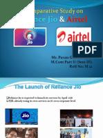 Reliance-Jio & Airtel