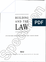 Building and the Law - Contents