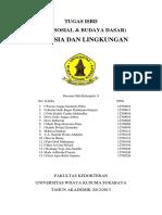 Cover (Manusia Dan Lingkungan Kelompok 8)