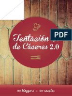 Tentacion-es de Caceres 2.0 Recetario 20 Bloggers 20 Recetas