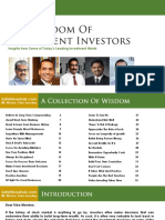 Wisdom of Intelligent Investors Safal Niveshak Jan. 2018