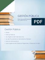 Gestión Pública -Diapositivas Cipal