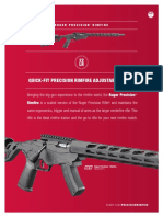 Ruger Precision Rimfire Sell Sheet