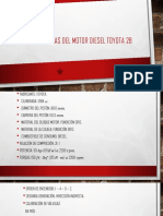 Carácterísticas Del Motor Diesel Toyota 2b
