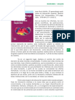 Recension Libro de AP Autonomo en Educ Superior
