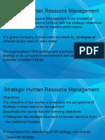 1- Strategic HRM