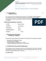 3.2 Estudio de Geologia y Geotecnia