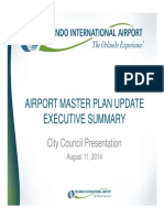 GOAA Workshop Airport Master Plan Update 08.11.14