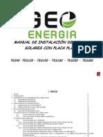 Manual de Instalacion Terma 90 120 150 180 250 300 Horizontal - Tapa Aluminio