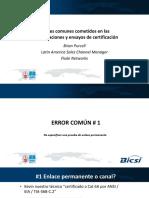 II Congreso Bicsi Cala Peru 2017. Ponencia Fluke Networks Usa