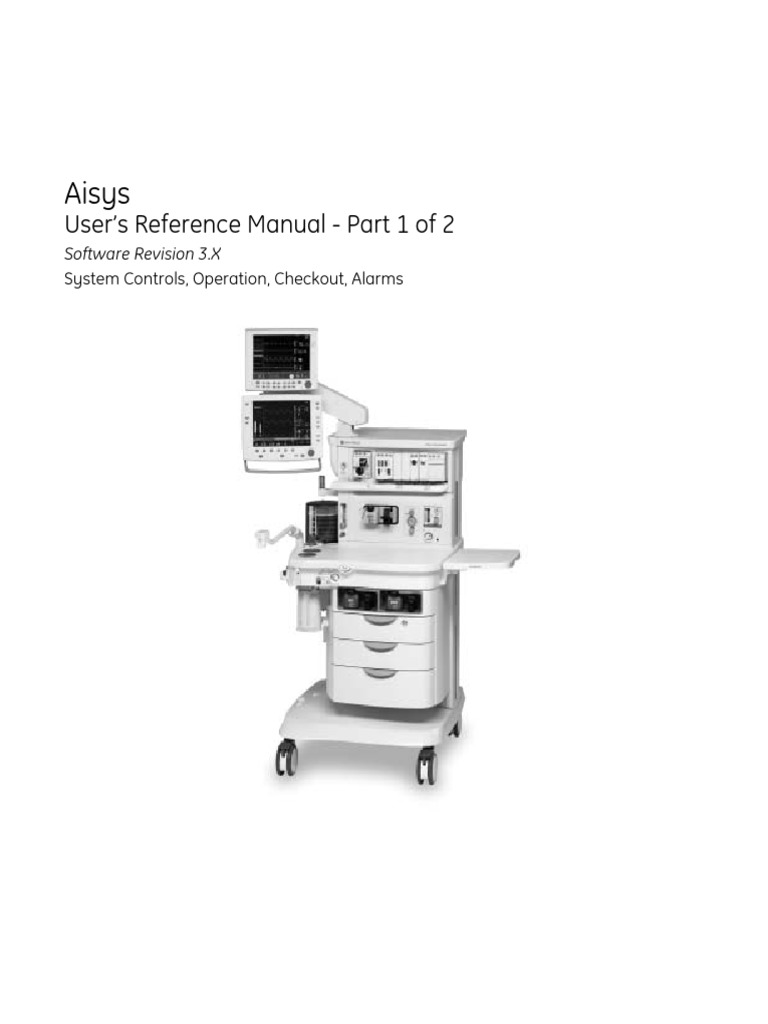 Datex-ohmeda aisys service manual – golden biomed.