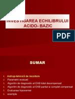 Investigarea Ech Ac Baz 2018