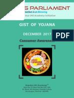 Gist of Yojana December 2017 Www.iasparliament.com