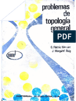 Problemas de Topología General