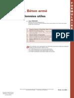 Calcul  Eurocode 2. Béton armée Formules et données utiles.pdf