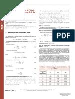 Calcul Eurocode 2. Béton Armée Formules Et Données Utiles