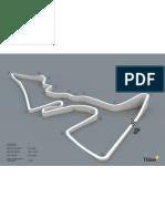 F1 USGP Basic Track Layout with Elevation