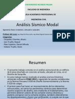 SISMO ANALISIS MODAL