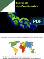 Teor. Deriva Continentes-tectonica de Placas