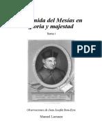 lacunza, manuel - la venida del mesias en gloria y majestad 01 (2).doc