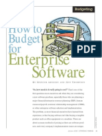 Soft Resources - How to Budget for Enterprise Software
