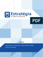 Estratégia- Aula 01 - Normas Constitucionais Sobre Controle Externo