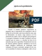La Brujería en La Prehistoria